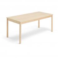 Jídelní stůl Europa, 1800x800x720 mm, HPL, bříza