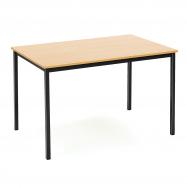 Jídelní stůl Jamie, 1200x800 mm, buk, černá