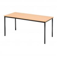 Jídelní stůl Jamie, 1800x800 mm, buk, černá