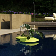Plovoucí designový květináč Ninfea