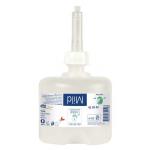 Mýdlo tekuté Premium jemné - Mini. Součástí každého obalu je integrovaná dávkovací pumpa.