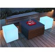 Svítící taburet Cube