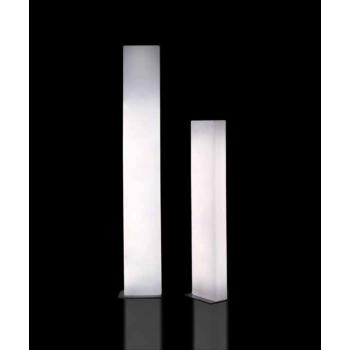Designová stojací lampa BRICK