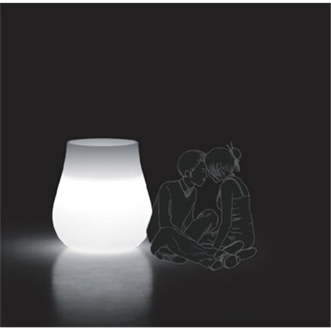Svítící váza DROP LIGHT