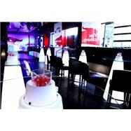 Svítící koktejlový stůl PEAK