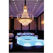 Svítící designový sedací nábytek SNAKE
