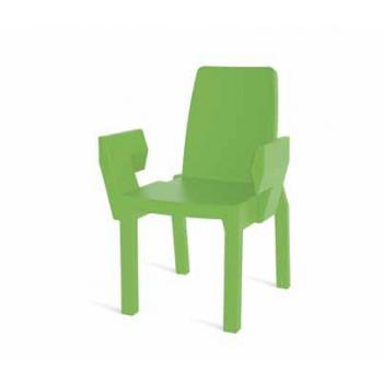 Plastová zahradní židle DOUBLIX