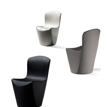 Designová plastová židle ZOE