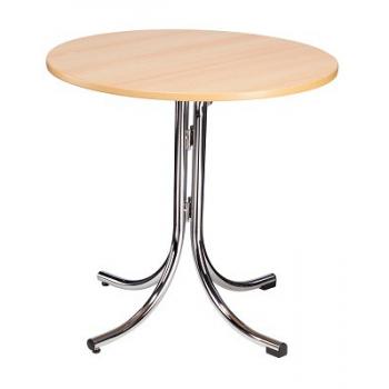 Skládací kavárenský stůl KLIK-KLAK LOW ROUND, Ø 85 cm