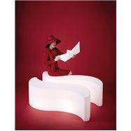 Svítící designový sedací nábytek WAVE