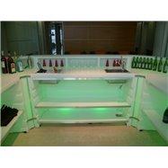 Svítící barový pult BARTOLOMEO - rovný díl