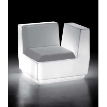 Svítící sedačka BIG CUT - rohový díl