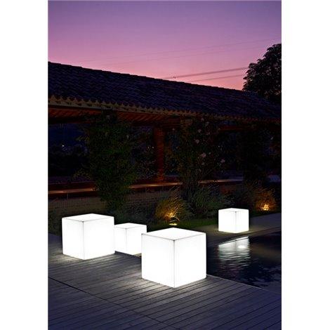 Svítící sedačka KUBE SGABELLO