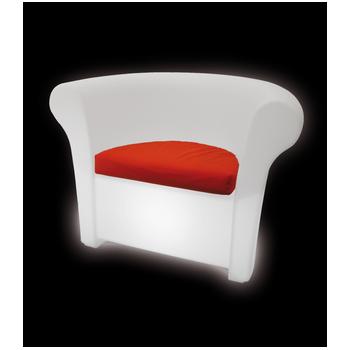 Svítící designové křeslo KALLA