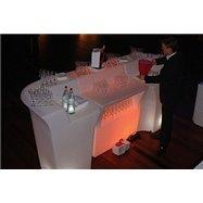 Svítící barový pult JUMBO rovný díl