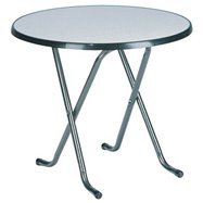 Skládací kavárenský stůl FAVOURITE LOW ROUND, Ø 85 cm