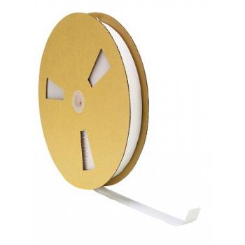 Samolepicí suchý zip, háčky (25 m), bílý - šířka 20mm