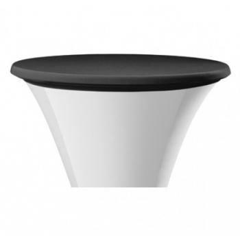 Elastický potah STEP na desku stolu Ø 60cm - černý