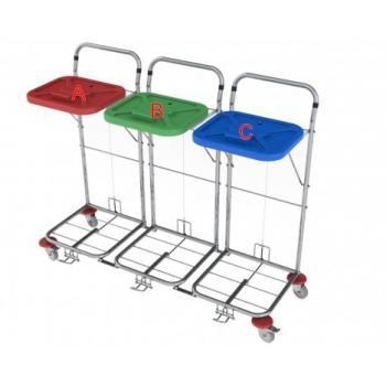 Vozík na prádlo VAKO 80C/3 - ruční ovládání