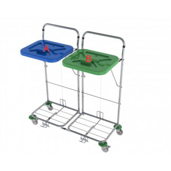 Vozík na prádlo VAKO 120C/2N - nožní ovládání