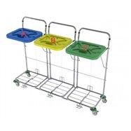 Vozík na prádlo VAKO 120C/3N - nožní ovládání