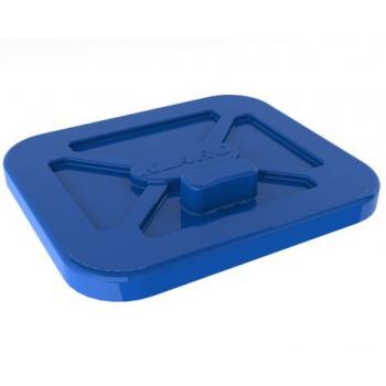 Plastové víko 120 l 00042-R-OLD