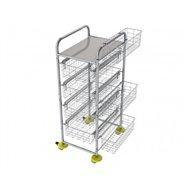 Zdravotnický víceúčelový košíkový vozík AMBULANT MINI 3