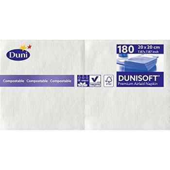 Ubrousek Dunisoft 180 ks, 20 x 20 cm, 1 bal. - různé barvy
