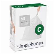 Sáčky do odpadkového koše 10-12 L, Simplehuman typ C, zatahovací, 3 x 20 ks ( 60 sáčků )