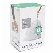 Sáčky do odpadkového koše 55 L, Simplehuman typ U zatahovací, 3 x 20 ks ( 60 sáčků )