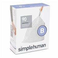 Sáčky do odpadkového koše 6 L, Simplehuman typ B, zatahovací, 3 x 30 ks ( 90 sáčků )