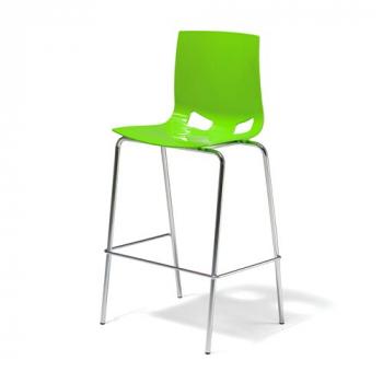 Barová židle Phoenix, zelená