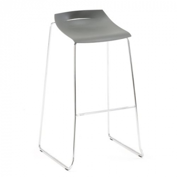 Barová stolička Memphis, antracitový sedák