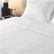 Povlečení na polštář 70 x 90 cm, 100% bavlna, 130 g/m2, 8 mm proužek