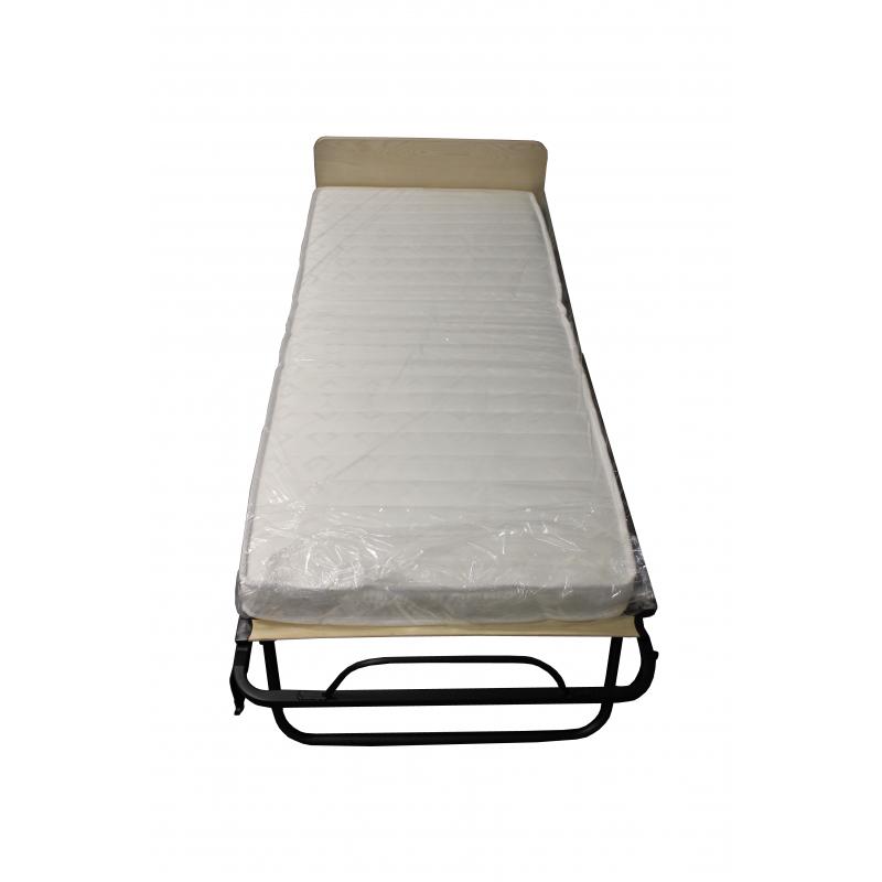 Skládací hotelová přistýlka HOTELUM s 10 cm matrací