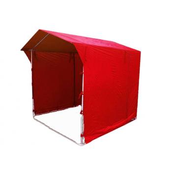 Prodejní stánek 2 x 2 m - červený