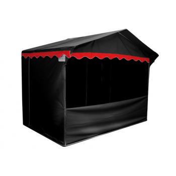 Prodejní stánek 3 x 2 m Jarmark - černý