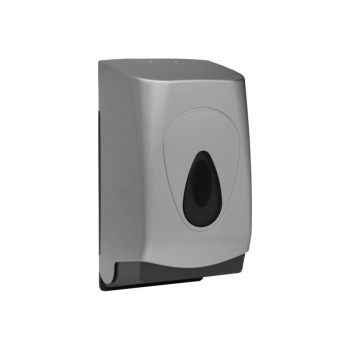 Zásobník na toaletní papír skládaný MERIDA UNIQUE SILVER LINE - mat