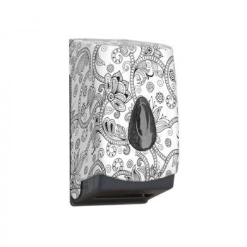 Zásobník na toaletní papír skládaný MERIDA UNIQUE ORIENT LINE - mat