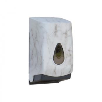 Zásobník na toaletní papír skládaný MERIDA UNIQUE MARBLE LINE - mat