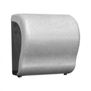 Mechanický podavač papírových ručníků v rolích Maxi UNIQUE GLAMOUR WHITE LINE Lux Cut -mat
