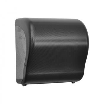 Mechanický podavač papírových ručníků v rolích Maxi UNIQUE CARBON LINE Lux Cut-mat