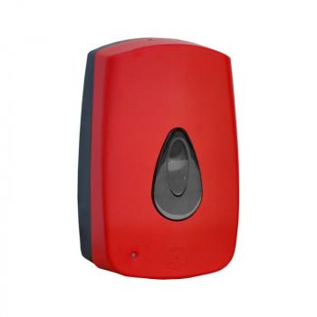 Dávkovač pěnového mýdla AUTOMATIC MERIDA UNIQUE RED LINE - mat