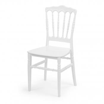 Banketová židle Napoleon, bílá