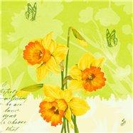 Ubrousek 40x40 cm CLASSIC SPRING FLOWERS