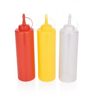 Láhev na hořčici kečup 0,7l plast