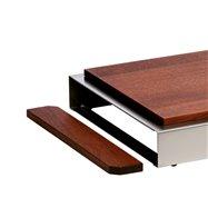 Kryt boční - s magnetem, tmavý, výška 6,5 cm/2 KS