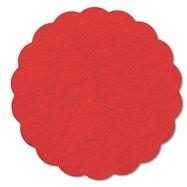 Rozetky AIRLAND 9 cm červené