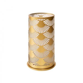 Svícen KOV 140x75mm PEACOCK GOLD