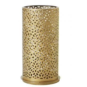 Svícen Metal 140X75mm BLISS GOLD